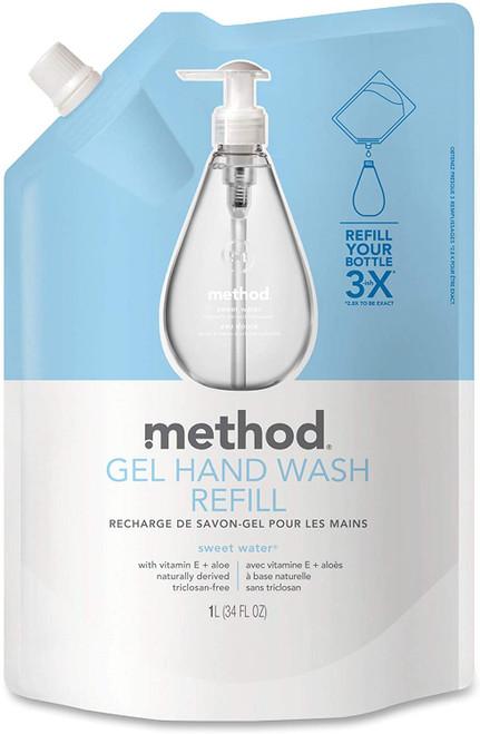 Method Sweet Water Gel Hand Wash Refill - 1 L