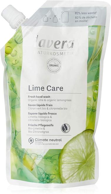 Lavera Lime Care Soft Foam Hand Wash Refill Pouch - 500ml