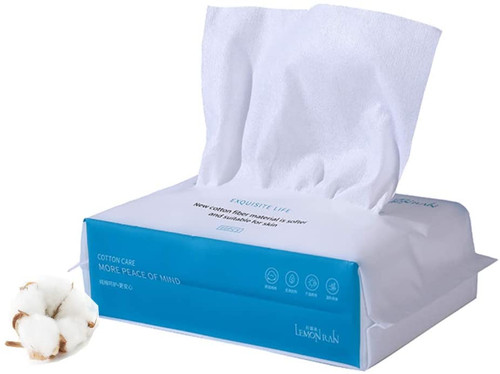Forrader Disposable Face Towel Soft Dry Wipes 1pack=60pcs