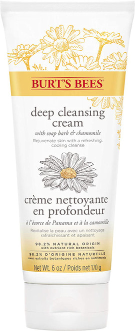 Burt's Bees Soap Bark and Chamomile Deep Cleansing Cream-170 grams