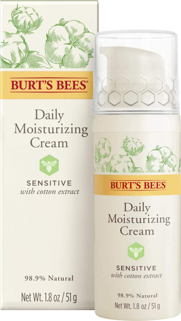 Burt's Bees 98.9% Natural Daily Moisturising Cream-51 g