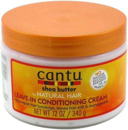Cantu Shea Butter Soft Hair Leave in Conditioning Cream - 340 g