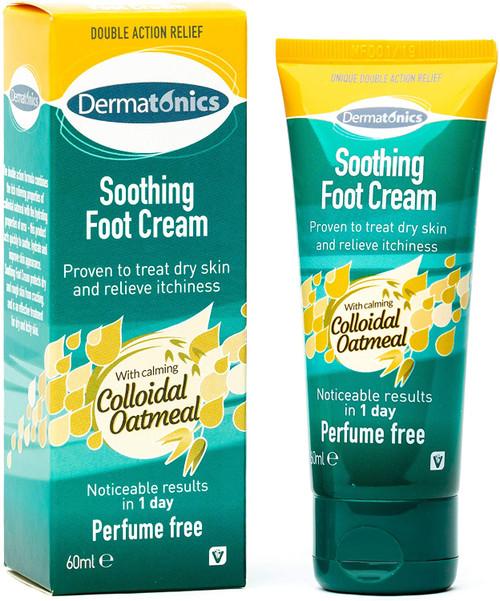 Dermatonics Perfume Free Soothing Foot Cream - 60ml