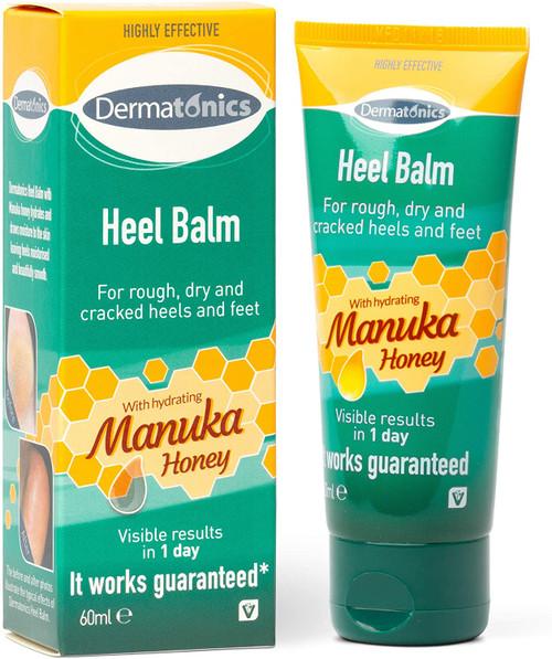 Dermatonics Hydrating Manuka Honey Heel Balm - 60ml
