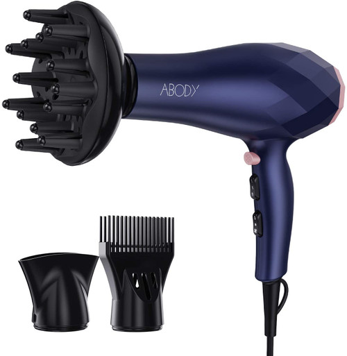 Abody Portable Hook Design Professional Faster Drying Hair Dryer - 2200W