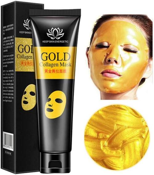 24k Gold Mask Collagen Peel-off Facial Mask-60g