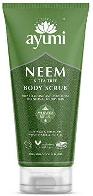 Ayumi Neem & Tea Tree Body Scrub-1 x 200ml