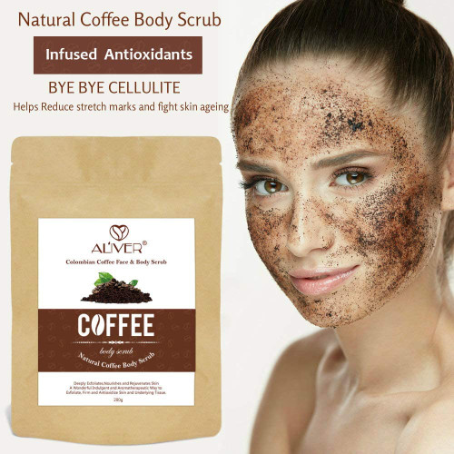 Aliver Face and Body Coffee Scrub-200g