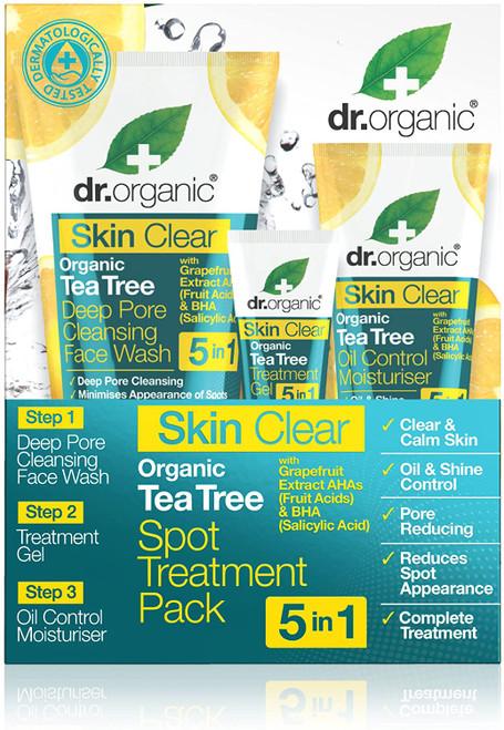 DR ORGANIC Skin Clear 5 In 1 Spot Treatment Pack-192 g