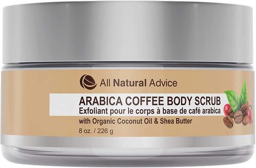 Arabica Coffee Body Scrub Organic Coconut Oil