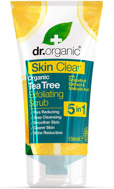DR ORGANIC Skin Clear Exfoliating Face Scrub