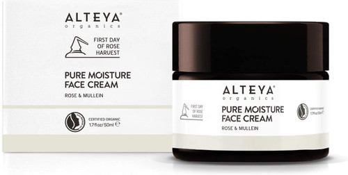 Alteya Organic Pure Moisture Face Cream Rose & Mullein-50 ml