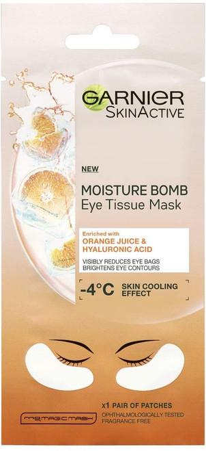 Garnier Hyaluronic Acid and Orange Juice Eye Tissue Mask-6g