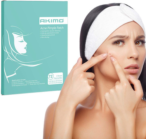 AKIMO Acne Spot Patches 72 Counts