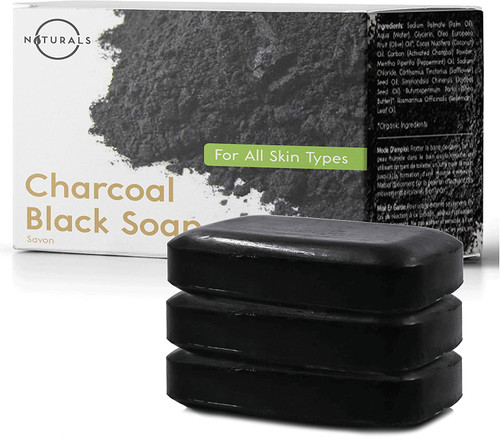 Activated Charcoal Black Bar Soap