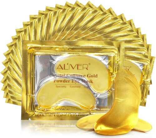 Crystal 24K Gold Under Eye Treatment Mask 26 Pairs