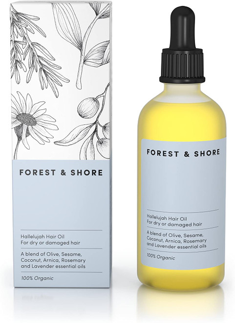 Forest & Shore Healthy Hair Growth And Smooth Follicle Hair Oil - 100ml
