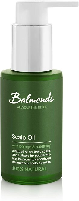 Balmonds Skin Salvation Scalp Oil With Borage And Rosemary - 50ml.