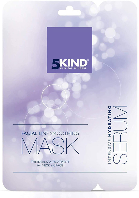 5Kind Anti-Ageing Collagen Face Mask Neck Sheet Pack of 1