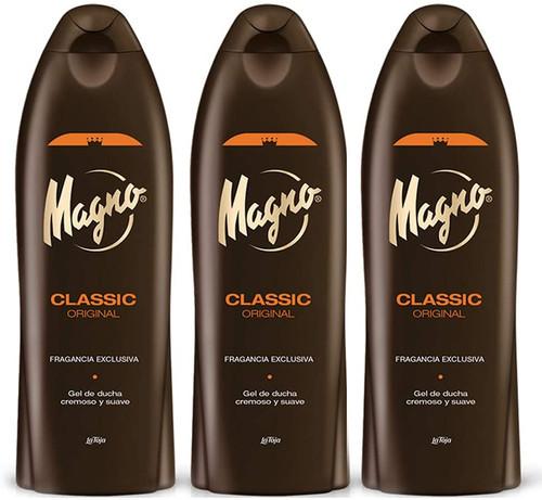 3 Bottles of Magno Shower Gel-550ml