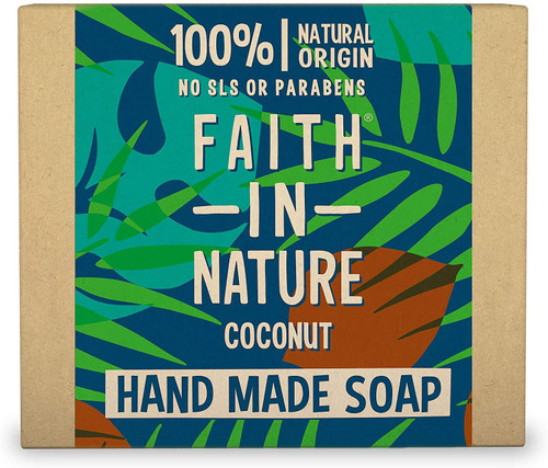 Faith in NatureHand Soap Bar-Coconut