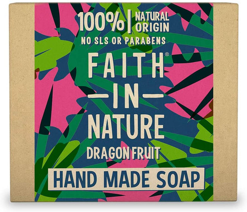 Faith in NatureHand Soap Bar-Dragon Fruit