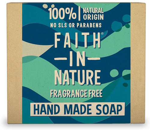 Faith in NatureHand Soap Bar-Fragrance Free