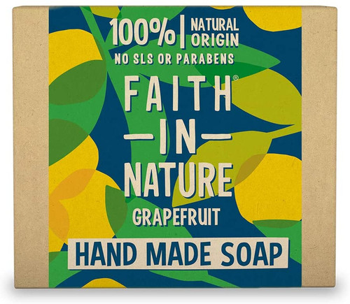 Faith in NatureHand Soap Bar-Grapefruit