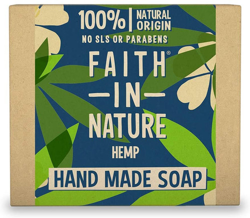 Faith in NatureHand Soap Bar-Hemp