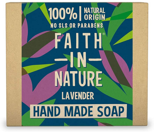 Faith in NatureHand Soap Bar-Lavender