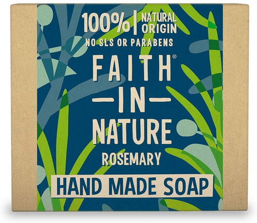 Faith in NatureHand Soap Bar-Rosemary