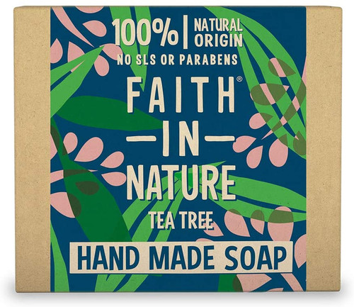 Faith in NatureHand Soap Bar-Tea Tree