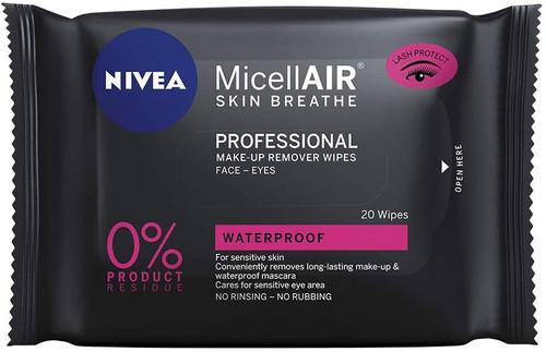 NIVEA MicellAIR Professional Micellar Make-Up Remover Wipes 20 Wipes