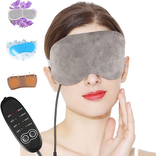 Aceoce Electric Adjustable Temperature Lavender Heating Eye Mask