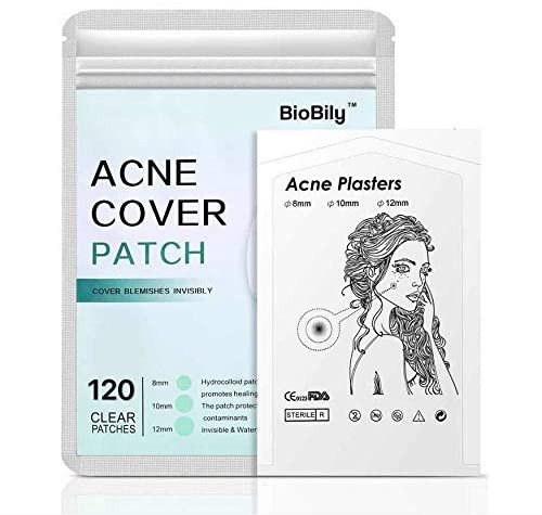 Acne Pimple Healing Patch Skin Tag Remover Patch 120 ROUND PATCHE