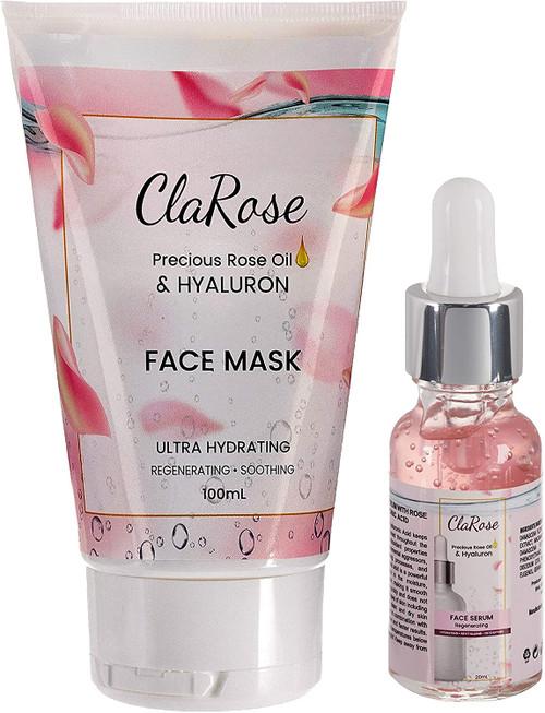 ClaRose Hyaluronic acid Face Kit-100ml