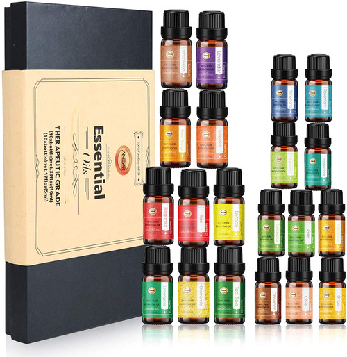 ANEAR 20 Different Fragrance Essential Oil Gifts Set