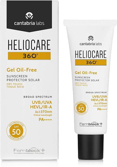 Heliocare 360 Oil-Free Gel SPF 50-50ml