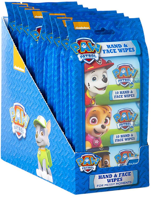 Paw Patrol Hand & Face Wipes 240 Wipes