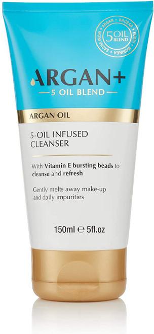 Argan+ 5-Oil Infused Cleanser-150ml