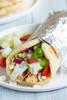 Greek Chicken Gyro Wrap - (Free Recipe below)