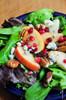 Apple Pear Salad with Pomegranate Vinaigrette - (Free Recipe below)