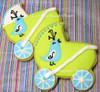 Bluebird Baby Carriage Cookies - One Dozen