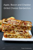 Apple, Bacon, Cheddar Grilled Cheese with Caramelized Onions - (Free Recipe below)