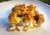 Cheesy Bacon Breakfast Casserole - (Free Recipe below)