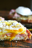 Croque Monsieur with Poached Eggs - (Free Recipe below)