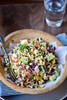 Crunchy Cabbage Salad with Spicy Peanut Dressing - (Free Recipe below)