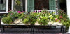 "120"" Wrought Iron Window Box Planter - custom designs, sizes available"