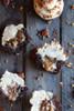 Chocolate Bourbon Pecan Pie Cupcakes with Butter Pecan Frosting - One Dozen