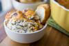 Broccoli & Cheddar Parmesan Dip with Garlic Crostinis - (Free Recipe below)